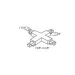 1-Circuit Track LA-15 X Connector -  /