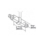 1-Circuit Track LA-2N Non Conductive Mini Connector -  /