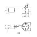 IT7000E 4.25 Inch 50W ELV Non-IC Remodel Housing -  /