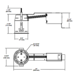 IT4000E 3 Inch 20-35W ELV Non-IC Remodel Housing  -  /