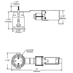 IT4000M 3 Inch 20-35W MLV Non-IC Remodel Housing  -  /