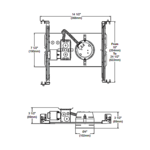 NW2000CM 4 Inch 50W MLV Non-IC Shallow New Construction -  /