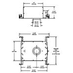 ECOLED2 3.5 Inch IC AirTight Housing -  /