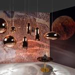 Copper Round Pendant -