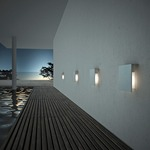 Corrubedo Outdoor Wall Lamp -  /