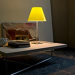Costanza Adjustable Table Lamp W / No Shade - Aluminum /
