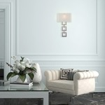 Carlyle Square Link Wall Sconce by Hammerton Studio