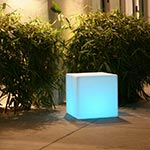 Cube LED Outdoor/Indoor Lamp by Smart & Green