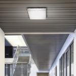Cube Wall/Ceiling Light Chrome - Polished Chrome / Matte White