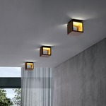Cubo Wall Sconce/Ceiling Flush Mount by ICone