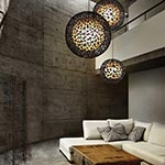 C-U C-ME Round Hanging Lamp by Hive