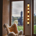 In The Tube Mesh Indoor / Outdoor Wall Sconce -