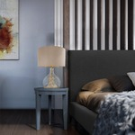 Defrost Table Lamp by Lightology Collection