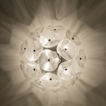 Fiori Wall / Ceiling Light -  / Amber Murano