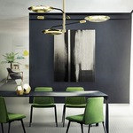 Hendrix Ceiling/Pendant Light Fixture by Delightfull