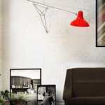 Diana Swing Arm Wall Sconce by Delightfull