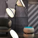 Drumbox Floor Lamp - Steel / Grey