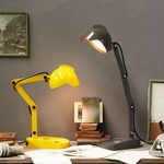 Duii Table Lamp - Yellow / Pressed Glass