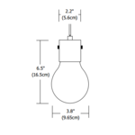 FJ Drop 2 Halogen Pendant 12V -  /