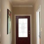 Satin Ceiling Halogen Light Fixture -  /