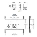 Step Halogen Master Wall Recessed -  /