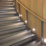 Port LED Round Wall/Floor Recessed by Edge Lighting