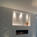 Sun3 Round LED 16Deg Recessed Uplight/Steplight - Satin Aluminum /