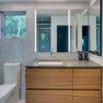 Bardot Bath Bar w/ 1 Inch Rectangle Canopy -