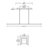 Cirrus Float Stick Center Feed Suspension -  /