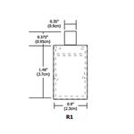 Monorail Cirrus Float R1 Rectangular Lens Suspension -  /