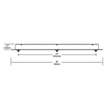 Fast Jack LED Linear 3 Port Canopy -  /