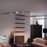 Lyra Linear Suspension by Edge Lighting