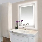 Sail Surface Mount LED Mirror -