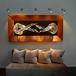 Monorail Wall Rebel Head on Canopy  | by Edge Lighting