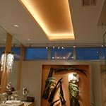Monorail Wall Telie Head by Edge Lighting