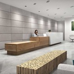 3 Inch Square Flangeless Wall Wash Trim -