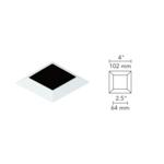 4 Inch Square Flangeless Bevel Trim -  /