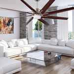 Aira Eco Indoor/Outdoor Ceiling Fan with Light -