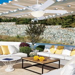 Sea Breeze Indoor / Outdoor Ceiling Fan -