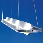 EOS Linear Suspension - Satin Aluminum /
