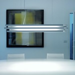 Escape Fluorescent Linear Suspension by Lightology Collection