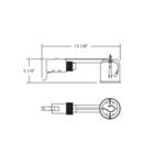 RH04 4 Inch MR16 GU5.3 12V Non-IC Remodel Housing -  /