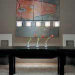 Exos Adjustable Linear Pendant by Hubbardton Forge