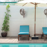 Anywhere Oscillating Outdoor Wall Fan -