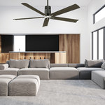 Clean Ceiling Fan with Light -