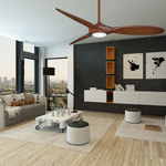Force Ceiling Fan with Light -