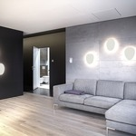 Facce Tetro Wall / Ceiling Light by Artemide