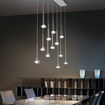 Fairy Linear Suspension by Axo Light
