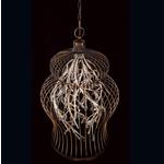 Fanta Chandelier - Oil Rubbed Bronze / Clear Crystal