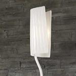 Flag Floor Lamp - Polished Chrome / White